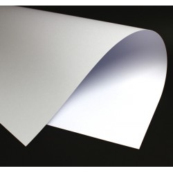 Papier wizytówkowy ozdobny biały gładki