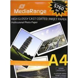 Papier fotograficzny błyszczący 220g 10 A4 atrament