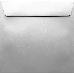 Koperty perłowe srebrne K4 156x156 na zaproszenia