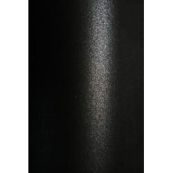 Papier ozdobny metalizowany Aster Metallic 250g Black...