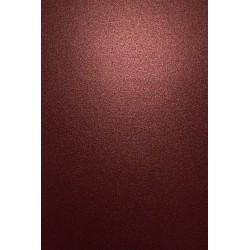 Papier ozdobny metalizowany Aster Metallic 250g Dark Red...