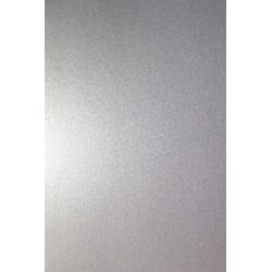 Papier ozdobny metalizowany Aster Metallic 120g Silver...