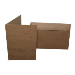 Papier Ekologiczny Eko KRAFT 250g 20 A5 - bigowany