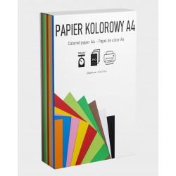 Zestaw papier kolorowy i eko 10 kolorów 160g 250A4