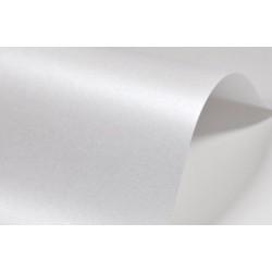 Papier wizytówkowy metalizowany 250g biały 250 A4