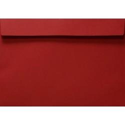 Koperty czerwone C5 Design 5szt zaproszenia kartki