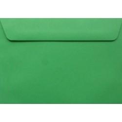 Koperty ozdobne C6 zielone zaproszenia 10szt