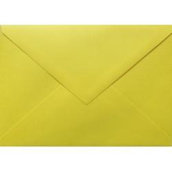 Koperty ozdobne w trójkąt C6 115g 10szt żółta