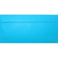Koperty ozdobne DL niebieskie zaproszenia 10szt
