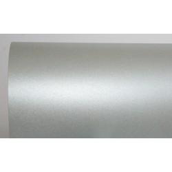 Papier perłowy 120 g na zaproszenia srebrny
