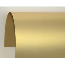 Papier perłowy 120 g na zaproszenia złoty