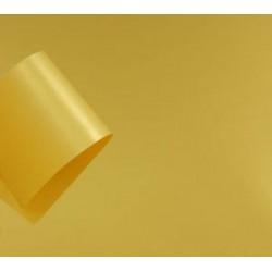 Papier perłowy 120 g na zaproszenia miodowy żółty