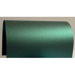 Papier perłowy 250g zaproszenia butelkowy zielony