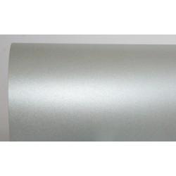Papier perłowy 250g na zaproszenia srebrny