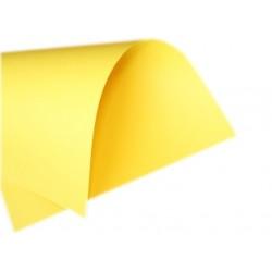 Papier gruby gładki żółty 230g duży format A2 B2