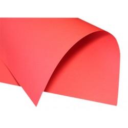 Papier gładki czerwony 230g duży format A2 B2