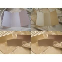 Papier bigowany A4 perłowy na zaproszenia